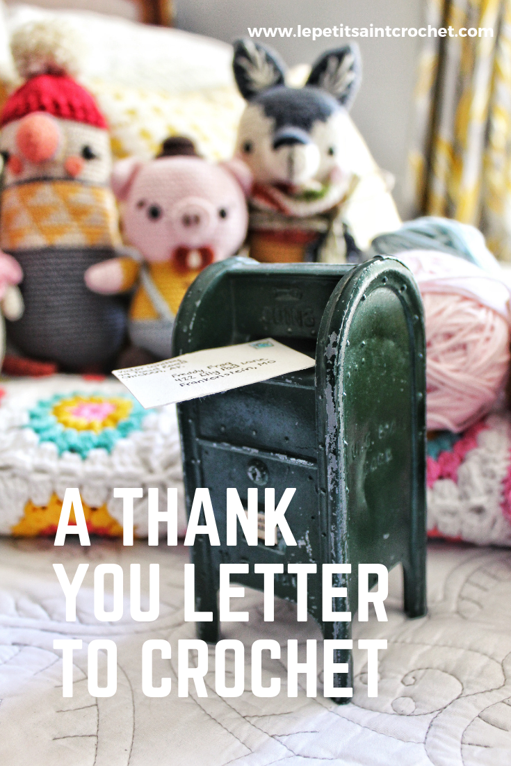 A Thank You Letter to Crochet